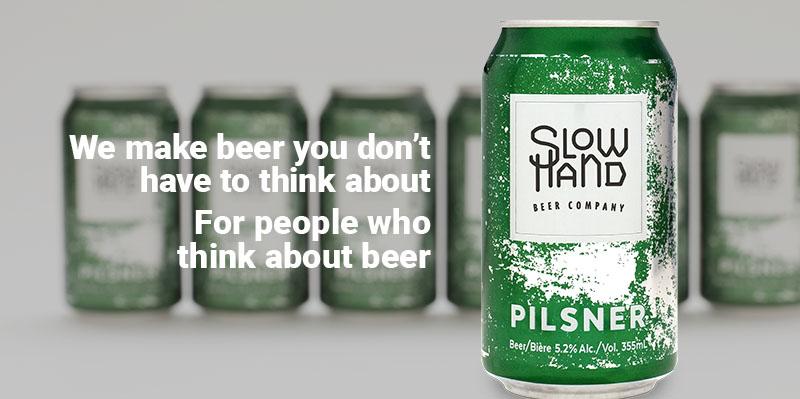 Social media ad for craft beer