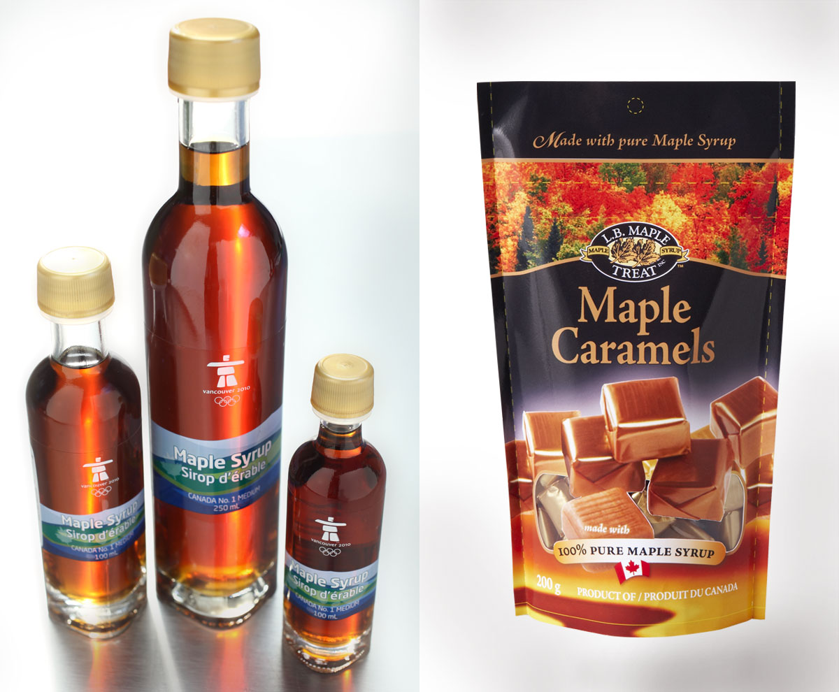 design for bottles and pouches